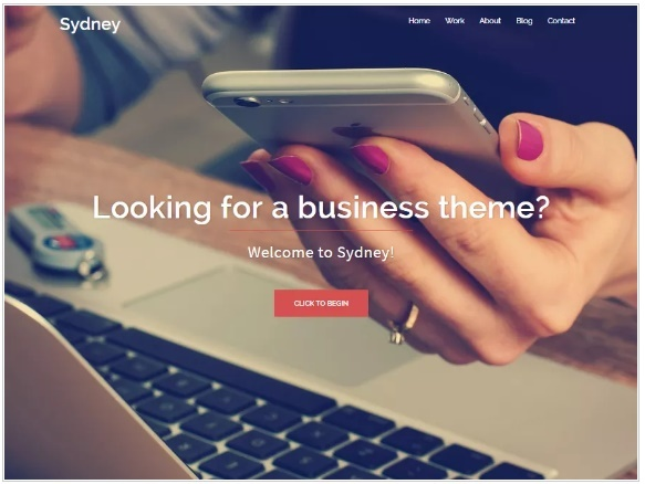 WordPress Themes: Sydney